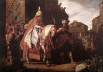 The Triumph of Mordecai, by Pieter Lastman