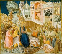 Entry into Jerusalem by Pietro Lorenzetti