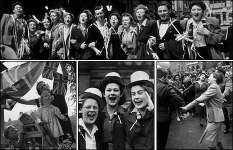 VE Day (image from BBC)