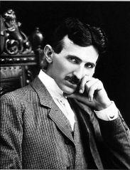 Nikola Tesla, circa 1896